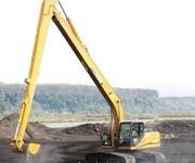 改装挖掘机拆楼臂,厂家直销挖掘机三段加长臂拆迁臂拆楼臂图片