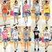 最便宜的大码女装短袖批发时尚新款最低价的女士半袖批发厂