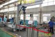专业生产底座可电动行走式移动悬臂吊厂家供应