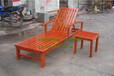實木扶手沙灘椅實木躺椅戶外沙灘椅實木海邊椅
