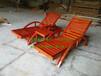 實木沙灘椅庭院折疊睡椅廠家