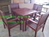 专业生产户外家具休闲桌椅木制桌椅实木桌椅园林桌椅