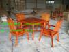 桌椅实木组合园林桌椅工厂广州户外桌椅