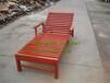 酒店优质沙滩椅游泳池木质沙滩椅户外休闲躺椅