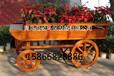 别墅木质花车公园花箱园林花车找青岛海硕环保专业的户外木质家具厂家