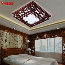 LED现代简约吸顶灯正方形卧室灯书房阳台灯客厅灯灯具批发