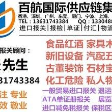 天津港进口美孚汽车润滑油报关文件有哪些