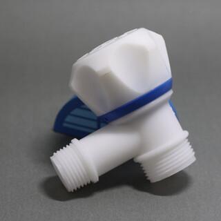 云塑系列塑料角阀塑料截止阀异径角阀西门子洗衣机龙头图片4
