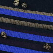 绍兴色织梭织横条面料F06176订做图片
