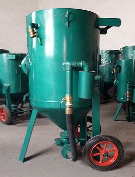專業生產噴砂防腐設備噴砂機噴砂罐噴砂服噴砂箱