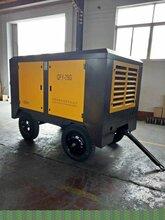 河北省吳橋壓縮機公司銷售部1-40立方螺桿空壓機圖片