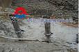 液压劈裂机孔距间隔开硬石头澎湖
