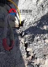 劈岩机手持式撑石机基坑开山器开挖孔桩坚硬岩石头平顶山图片