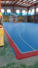 悬浮篮球运动地板-温州体育场地建设价格-强锐体育