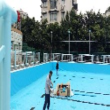 移动式游泳池建设-温州体育场地建设报价-强锐体育