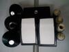 白色(黑色)硅胶助流气碟