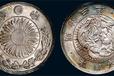 日本明治钱币+大日本明治八年铂金一万圆