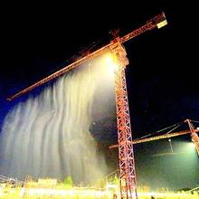 塔吊降尘设备工地塔吊降尘塔吊喷淋