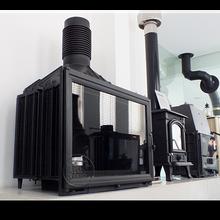 唐山圣罗曼真火燃木壁炉别墅设计壁炉公司唐山壁炉那有卖壁炉的