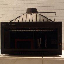 正品圣罗曼燃木壁炉铸铁壁炉超大观火面真火壁炉泰坦优惠促销