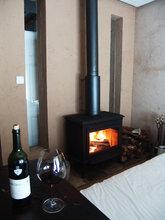 正品圣罗曼燃木壁炉铸铁壁炉独立式壁炉真火燃木壁炉公爵