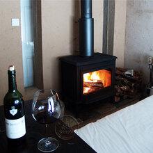 昆明圣罗曼真火燃木壁炉铸铁壁炉壁炉公司别墅设计