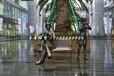 吹奏铜雕,广场景观铜雕