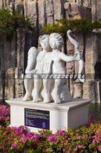 双子座石雕,十二星座石雕图片