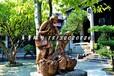 吃荔枝铜雕,公园景观锻铜