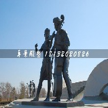 演奏铜雕,广场人物铜雕图片