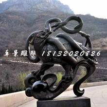 玄武铜雕,广场神兽铜雕图片