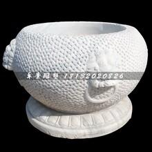 水缸石雕,大理石水缸图片