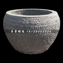圆形水缸,简单水缸石雕图片