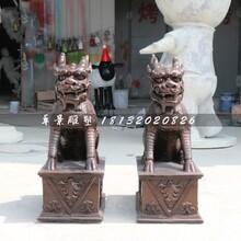 麒麟铜雕,铸铜神兽雕塑图片