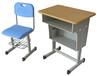 舒誉单人课桌椅学校钢木桌椅