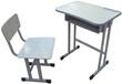低价促销河北课桌椅学生钢木课桌图片