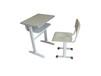 可升降学生课桌椅定做钢木课桌凳
