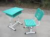 沧州大量学生课桌椅钢木课桌椅家用课桌椅凳