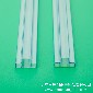 供应高透明度LED吸塑管防静电LED料管大功率LED包装管规格