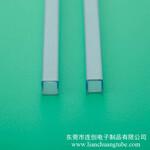 供应不易卡料电子元器件包装管性价比高各种规格PVC包装管图片