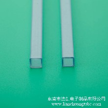 供应不易卡料电子元器件包装管性价比高各种规格PVC包装管