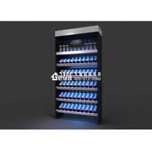 南京红酒展示柜-酒水柜台展柜制作生产批量订制-烟酒展示柜厂家优质