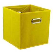 衣厨柜无盖金属扣手把无纺布折叠整理箱多功能收纳箱衣物收纳盒图片