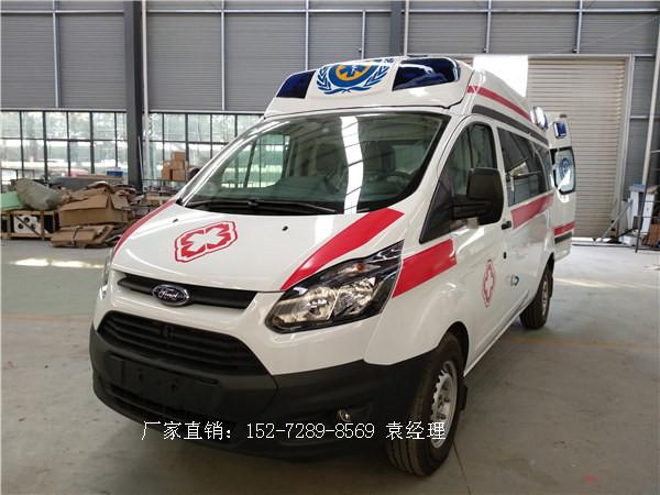 福特新全顺V362中轴中顶监护型救护车简介