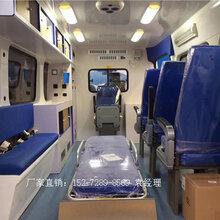 主流救护车福特全顺新世代v348长轴高顶监护型救护车厂家直销图片