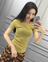 韩版女装T恤甩卖批发网、厂家直销低价小清闲女T批发市场货到付款