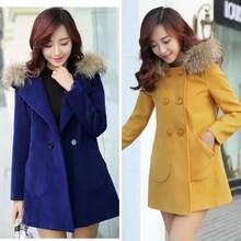 工厂直销一手货源10元以下便宜的加厚冬款女装毛呢大衣低价批发网