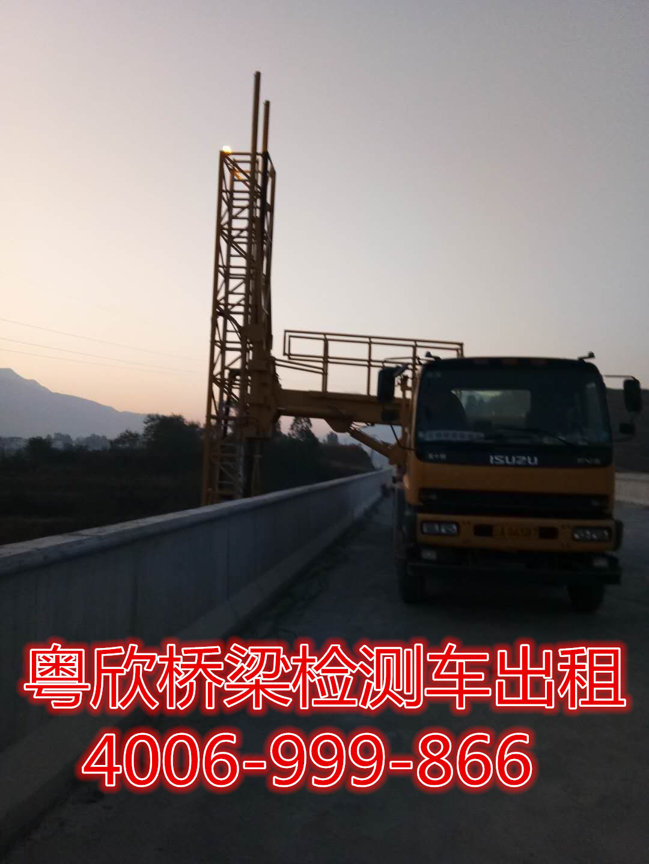 江苏桥梁检测车出租常州桥梁设备销售桥检车租赁公司