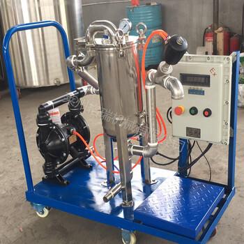供應不銹鋼真空過濾機,可移動式袋式過濾機
