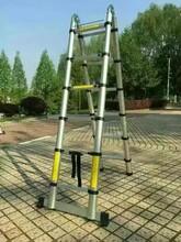 供应铝合金伸缩梯子价格金淼电力生产图片
